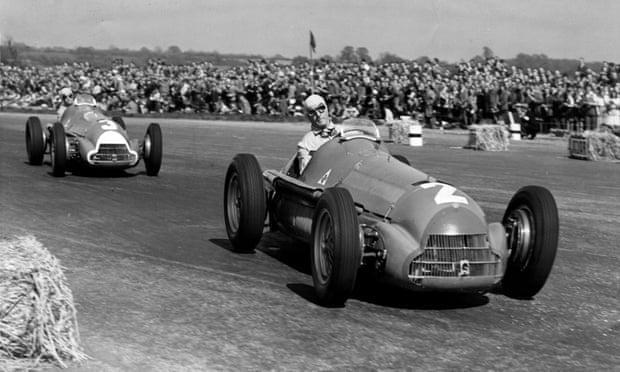 Alfa Romeo Giuseppe Farina_1950 British Grand Prix at Silverstone. Photograph BRDCSilverstone Experience