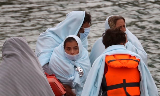 Migrants crossing the channel_Gareth Fuller_PA