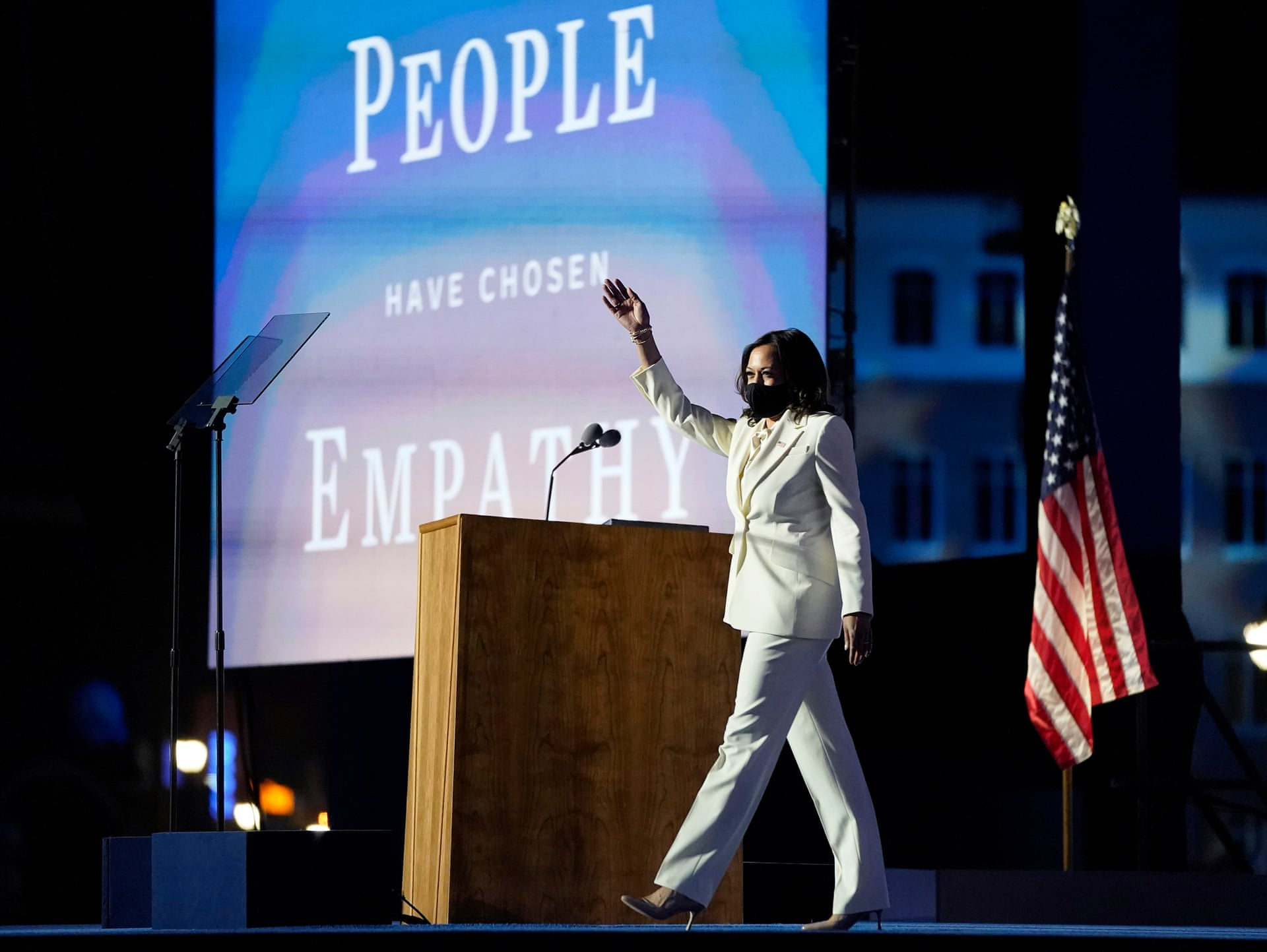 Kamala HARRIS_People have chosen Empathy