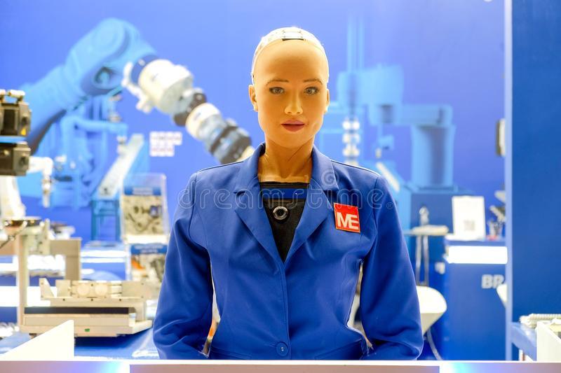 Sophia, a humanoid robot
